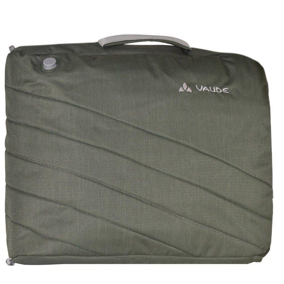 VAUDE Recycled PETronio Umhängetasche 44 cm Laptopfach in olive