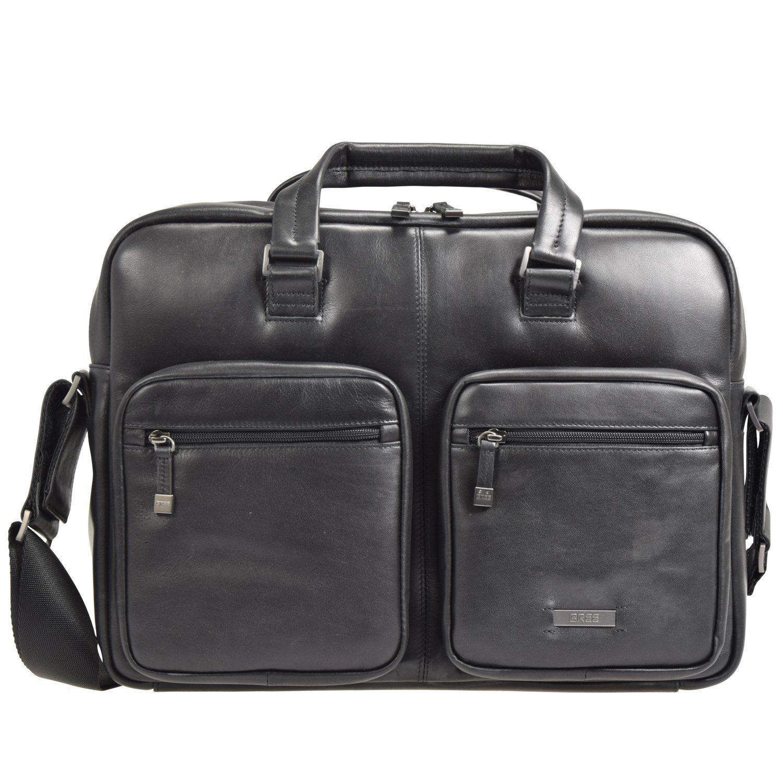 Bree Bree Milano 1 Businesstasche Leder 40 cm Laptopfach