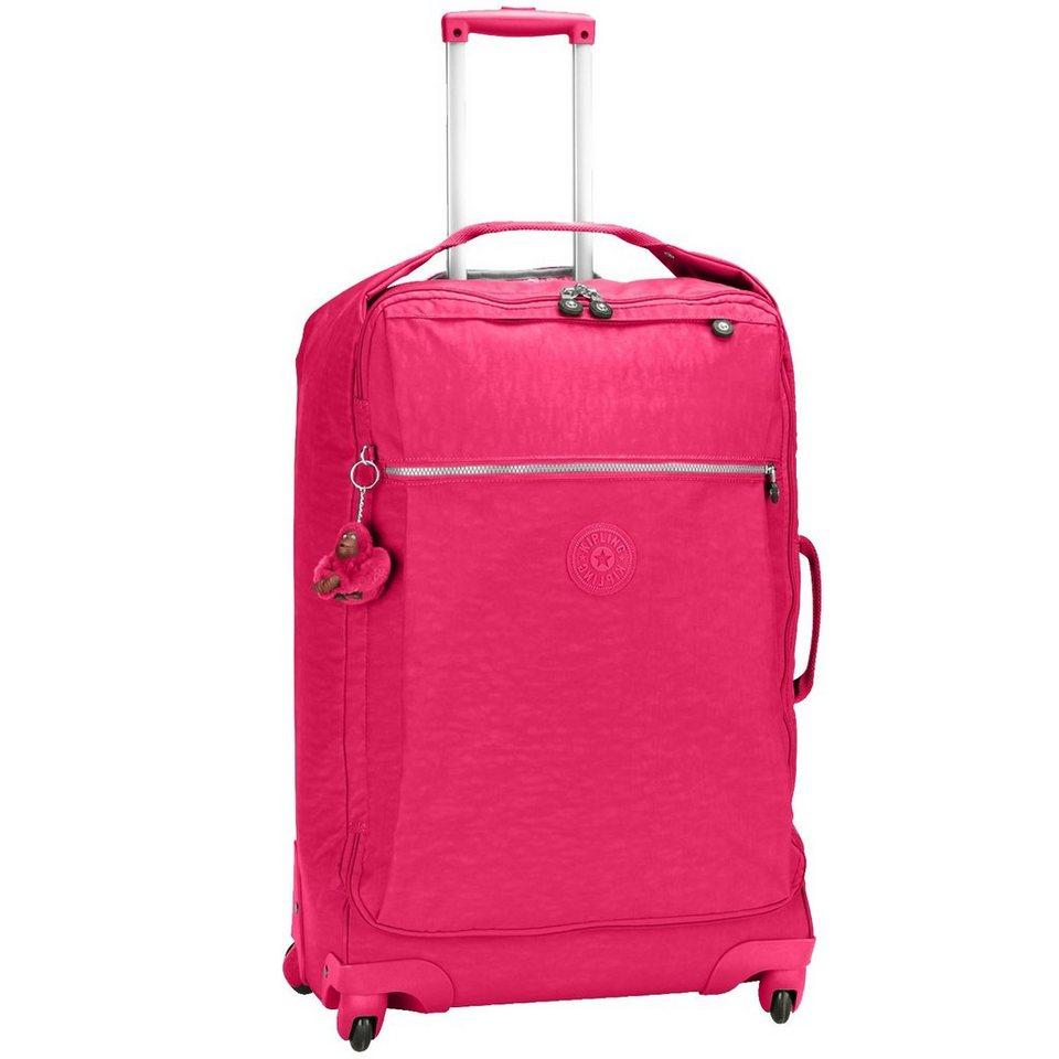 KIPLING Basic Travel Darcey 15 M 4-Rollen Trolley 67 cm in flamboyant pink