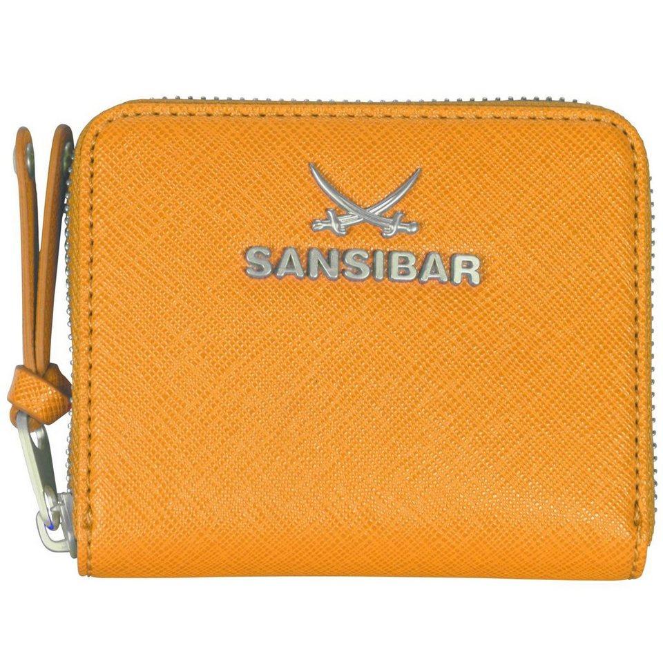 SANSIBAR Chic Geldbörse 11,5 cm in sun