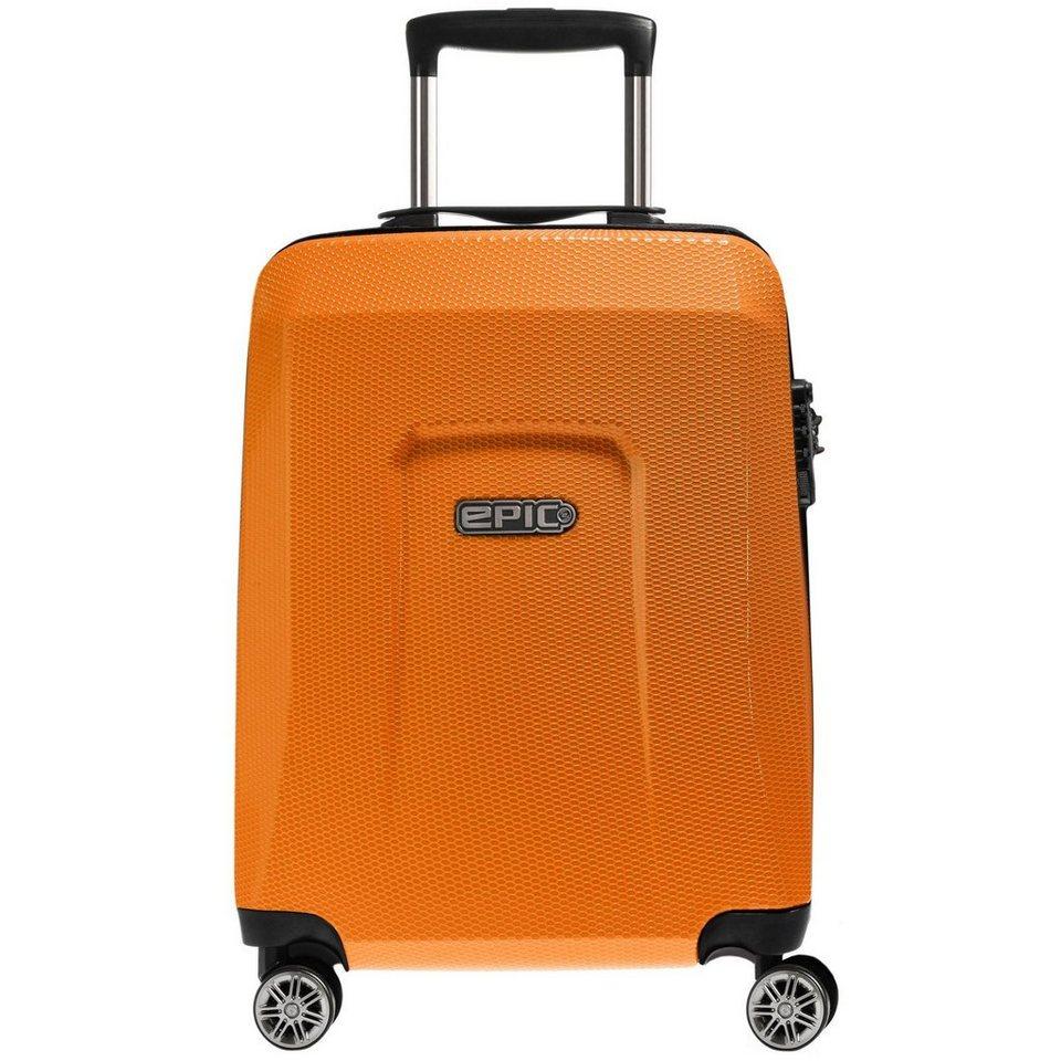 EPIC HDX Hexacore 4-Rollen Trolley 65 cm in orangeGLOW