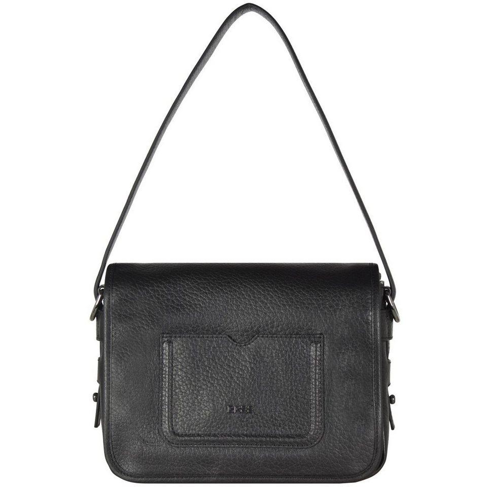 Bree Bree Antibes 3 Umhängetasche Leder 25 cm in black