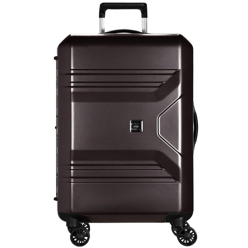titan prior 4 rollen trolley 78 cm online kaufen otto. Black Bedroom Furniture Sets. Home Design Ideas