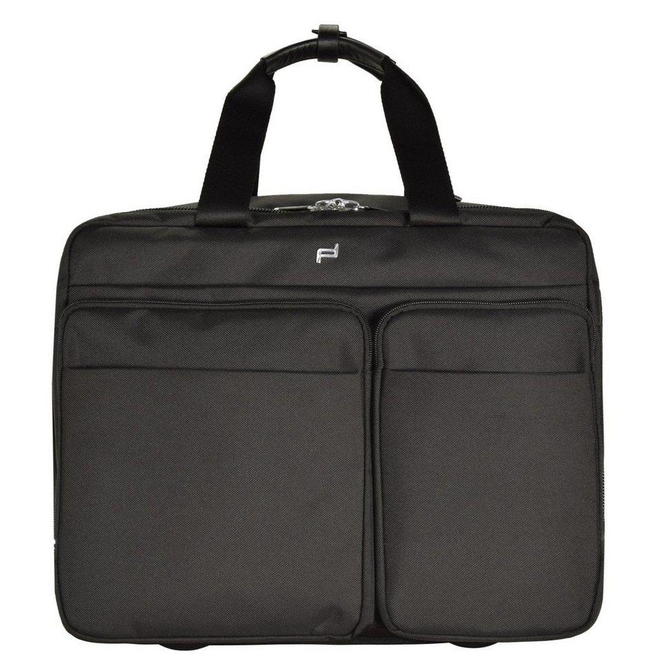 porsche design roadster 3 0 brief bag m 2 rollen trolley. Black Bedroom Furniture Sets. Home Design Ideas