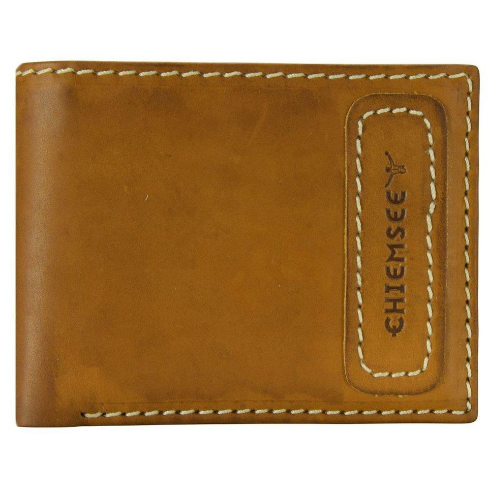 Chiemsee Crummy Geldbörse Leder 12,5 cm in ocker