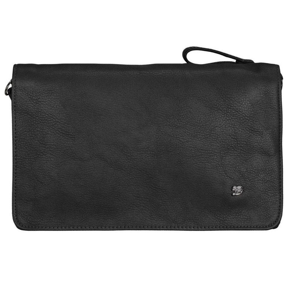 Tom Tailor Denim Nicole Clutch Tasche 26,5 cm in schwarz