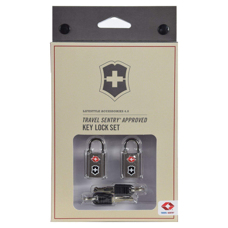 Victorinox Travel Accessories 4.0 TSA Vorhängeschloss 2-tlg. Set 4 cm