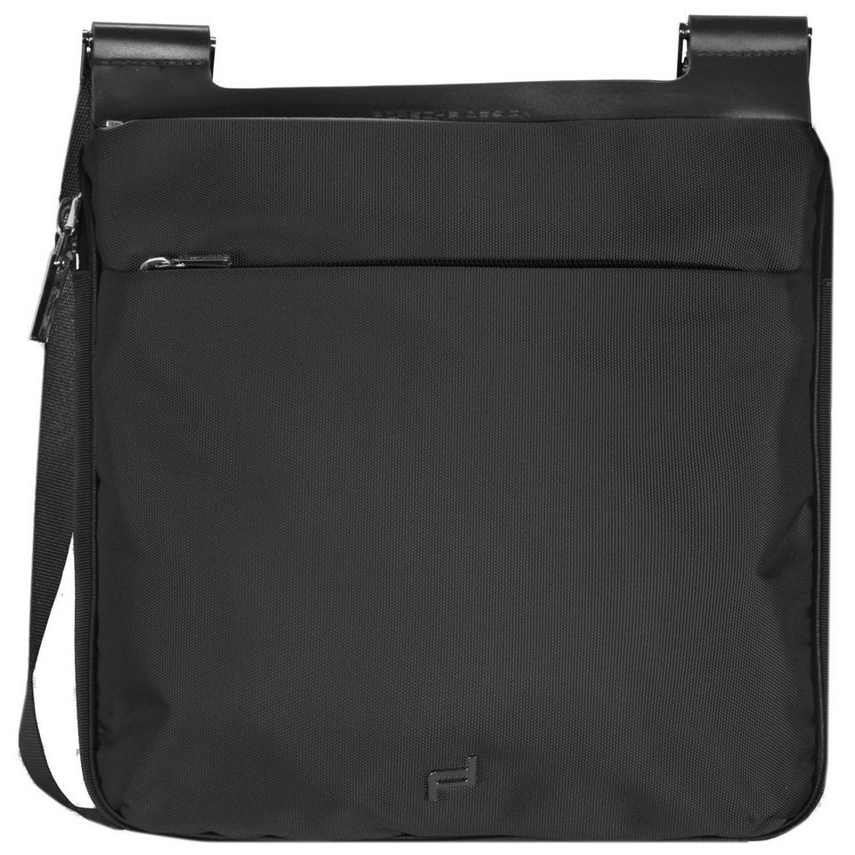 Porsche Design Shyrt-Nylon ShoulderBag M Umhängetasche 27 cm in black
