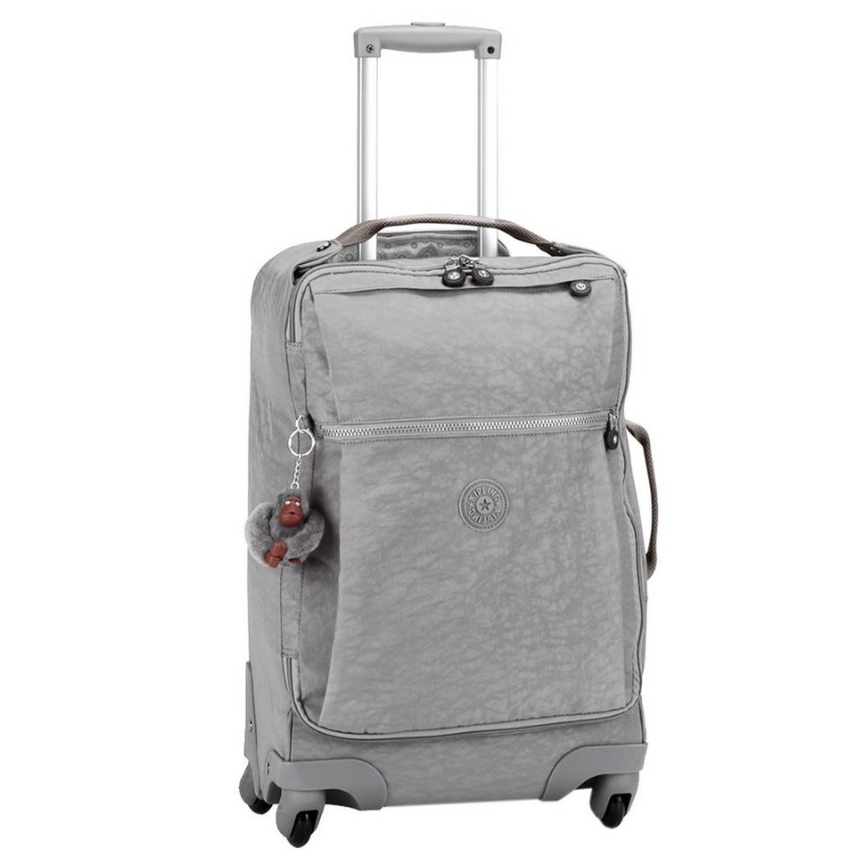 KIPLING Basic Travel 15 Darcey 4-Rollen Trolley 55 cm in cool grey c