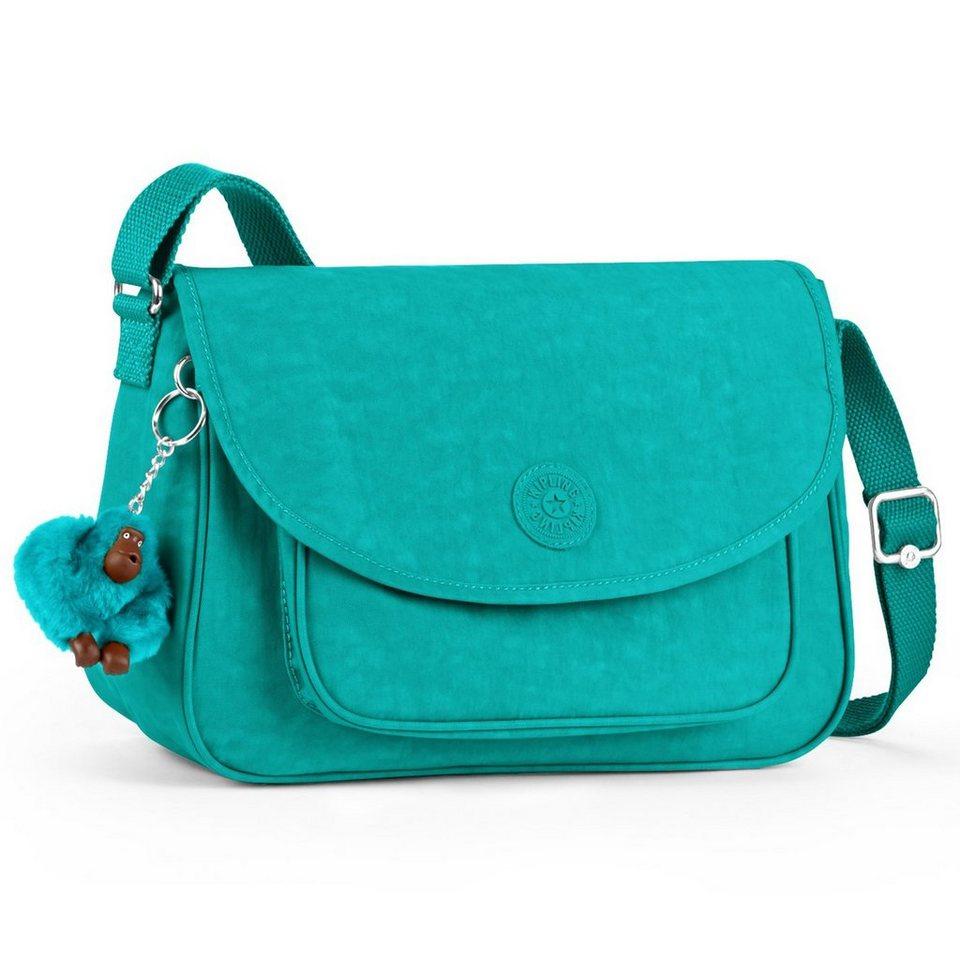KIPLING Kipling Basic Sunita Umhängetasche 28 cm in cool turquoise