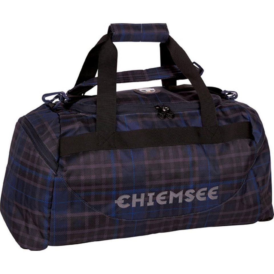 Chiemsee Sport 15 Matchbag Medium Sporttasche 46 cm in check black