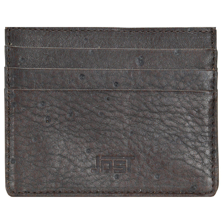 Jost Carlo Kreditkartenetui Leder 10 cm