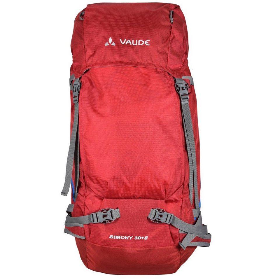 VAUDE Trek & Trail Simony 30+8 Rucksack 64 cm in indian red
