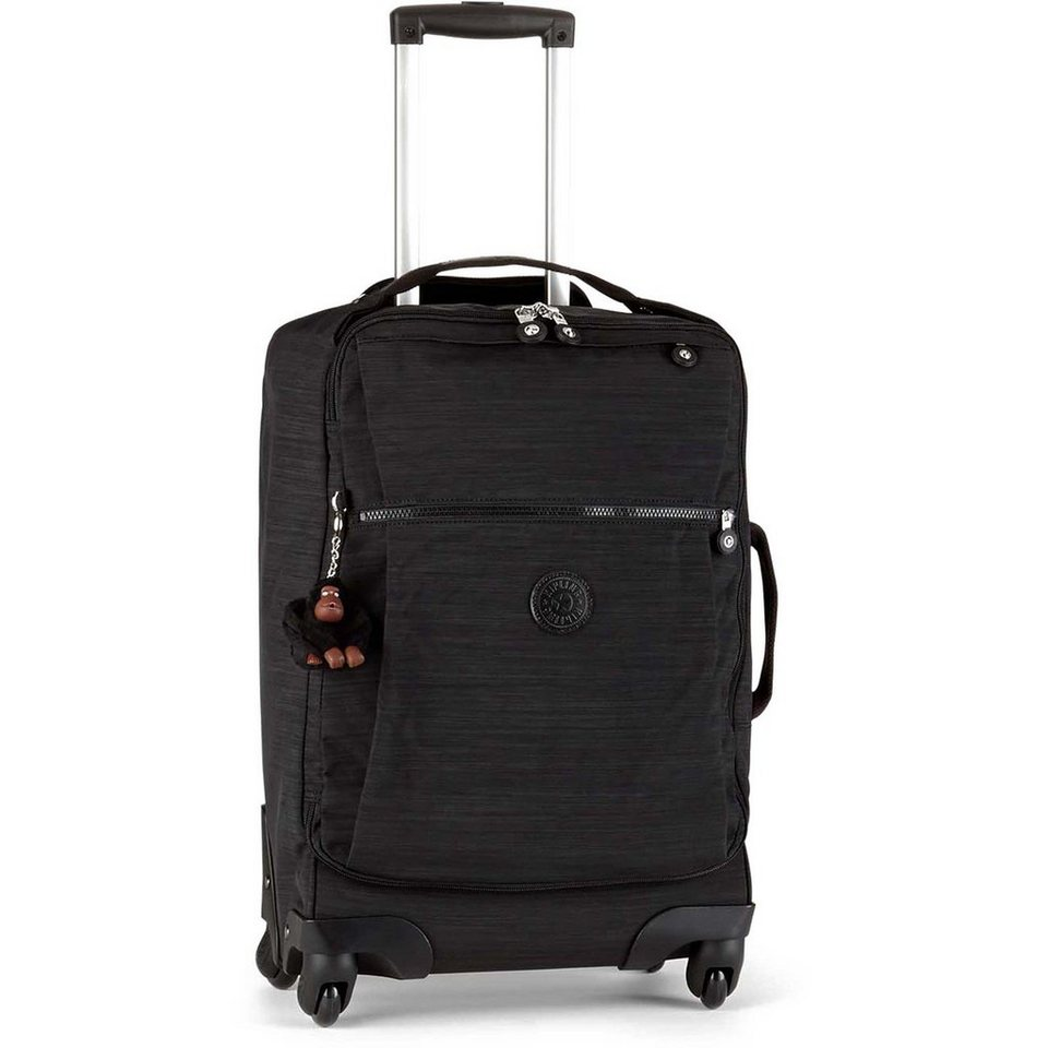 Kipling Kipling Basic Plus Travel Darcey BP 4-Rollen Trolley 55 cm in dazz black