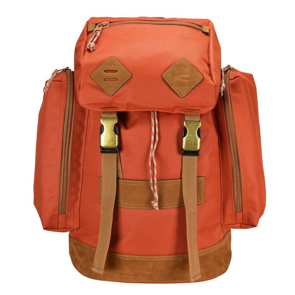 camel active Houston Rucksack 52 cm Laptopfach in orange