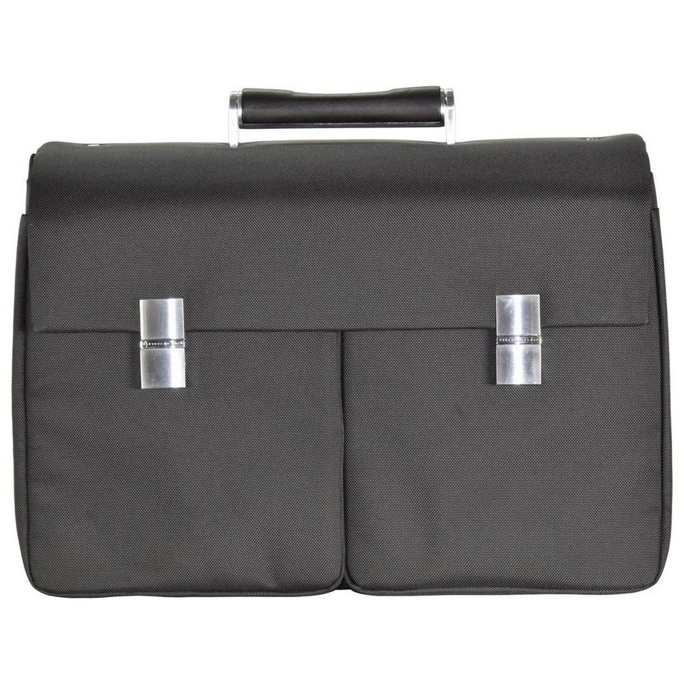 Porsche Design Roadster 3.0 Brief Bag FM Aktentasche 42 cm Laptopfach in black