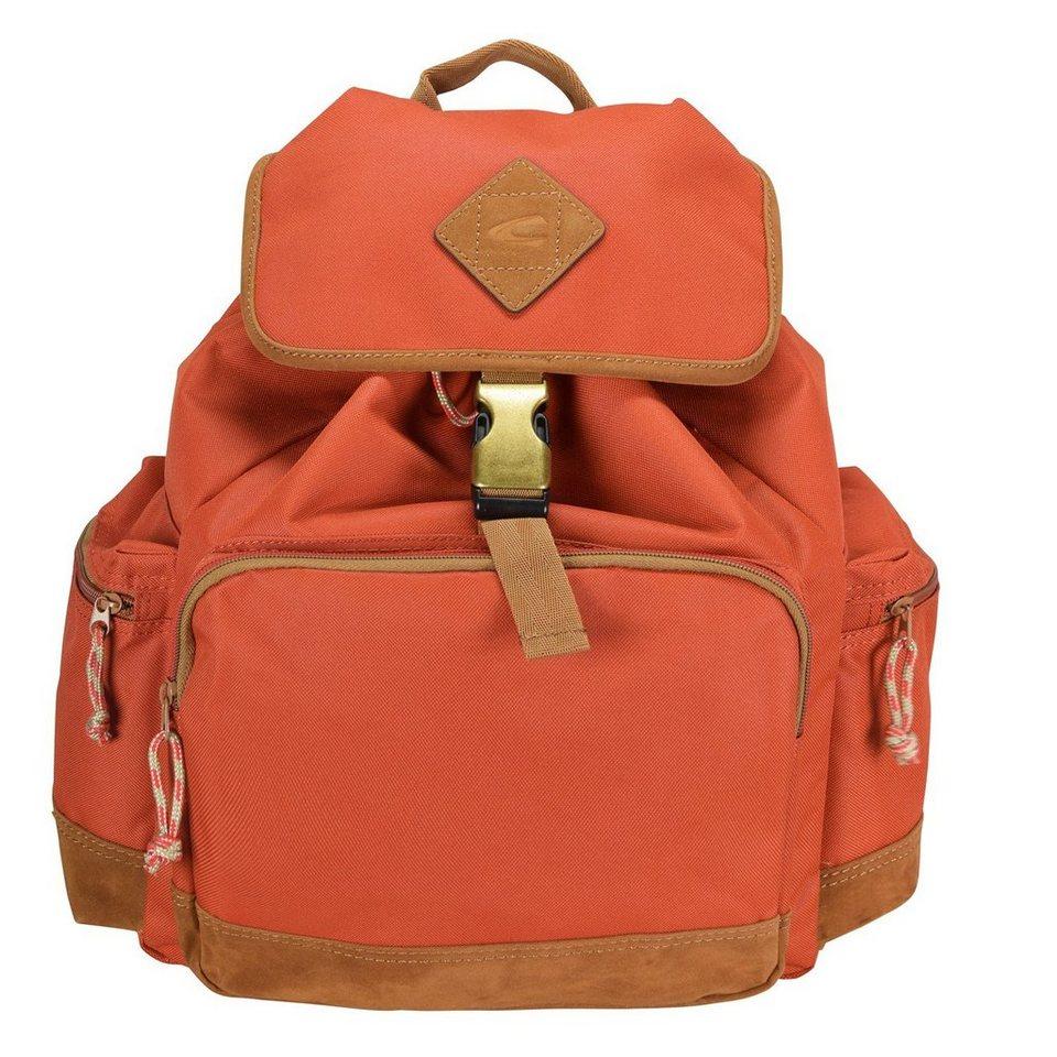 camel active Houston Rucksack 45 cm Laptopfach in orange