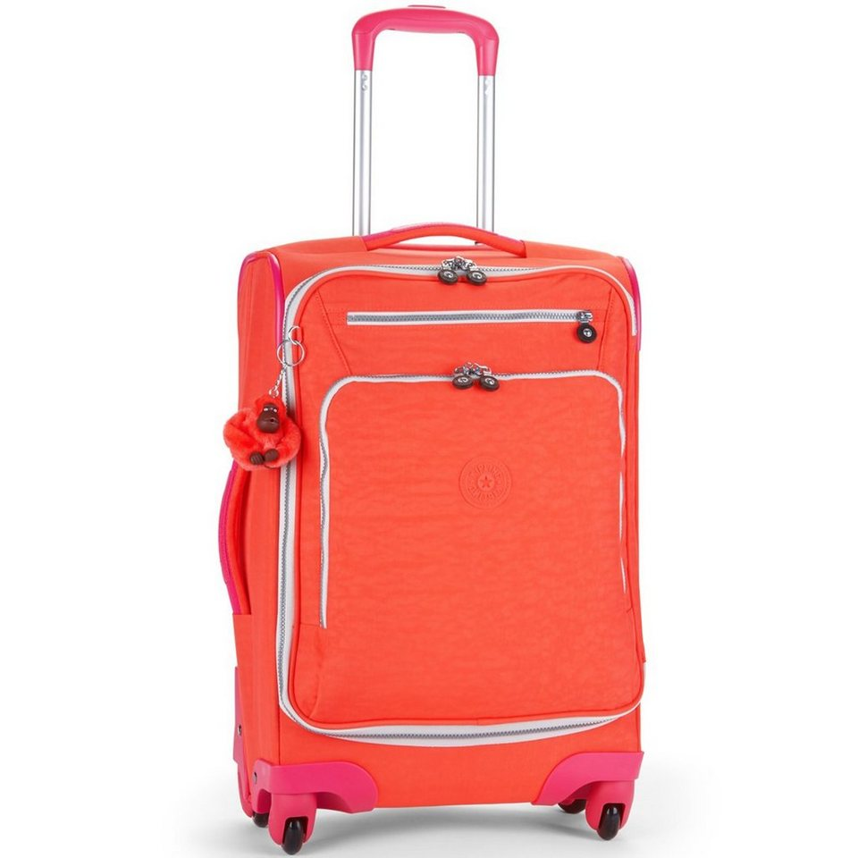 KIPLING Kipling Basic Travel 4-Rollen Trolley 15 Youri Spin 55 cm in coral rose ct