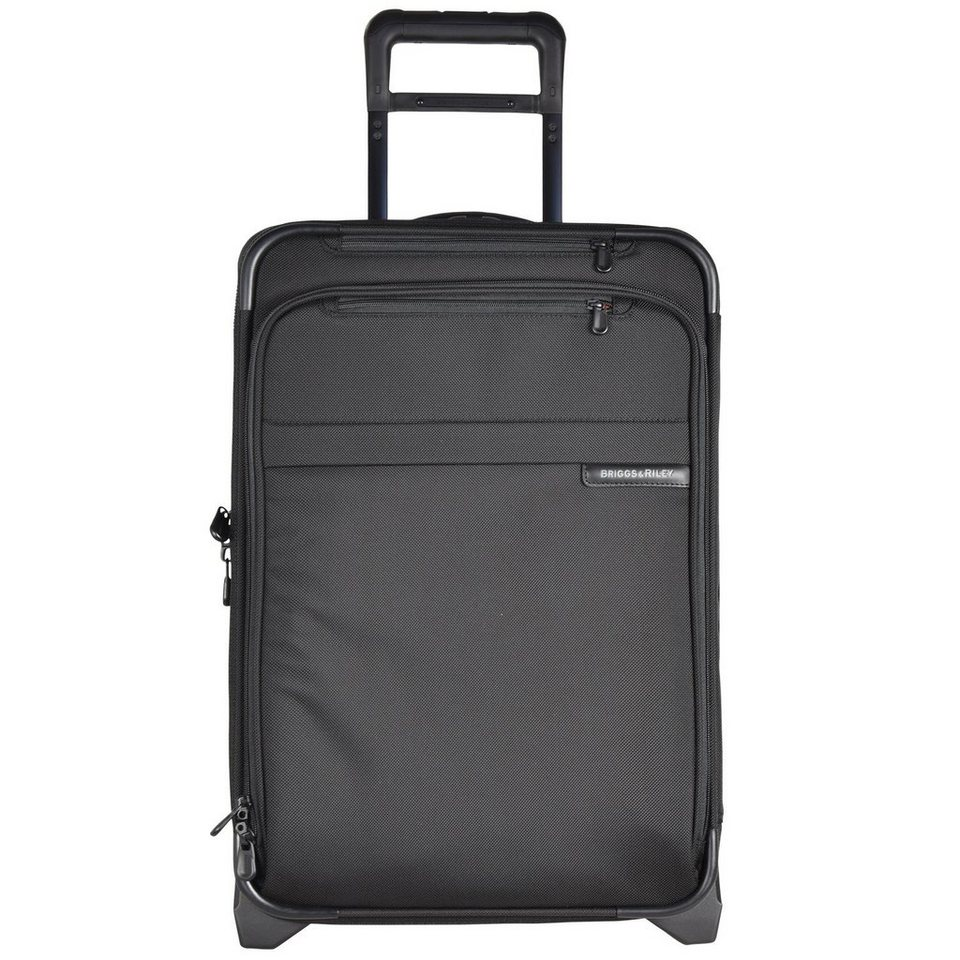 Briggs&Riley Baseline 2-Rollen Kabinentrolley 56 cm in black