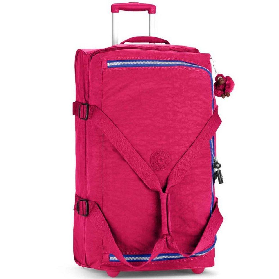 Kipling Kipling Basic Travel 15 Teagan M 2-Rollen Reisetasche 66 cm in flamb pink ink