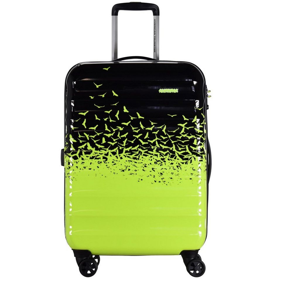 American Tourister American Tourister Palm Valley Fly Away Edition Spinner 4-Rollen in fly away green