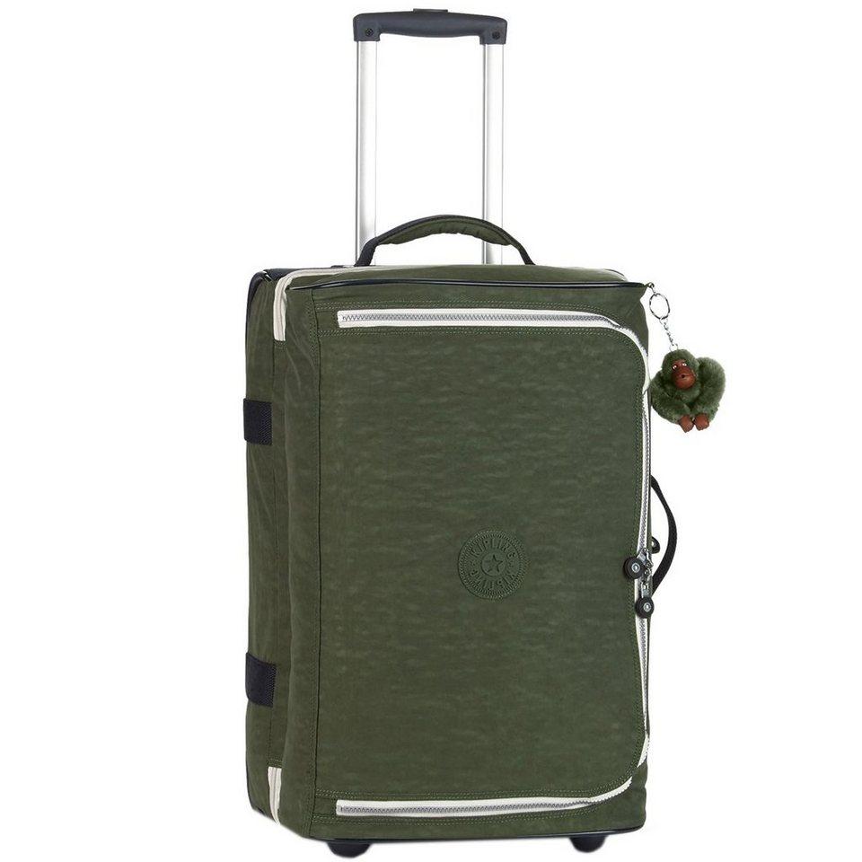 KIPLING Kipling Basic Travel Teagan 15 S 2-Rollen Kabinentrolley 56 cm in cactus khaki ct