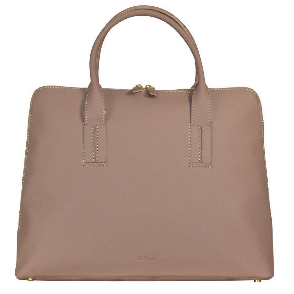 Bree Bree Lapua 4 Handtasche Leder 37 cm in almond