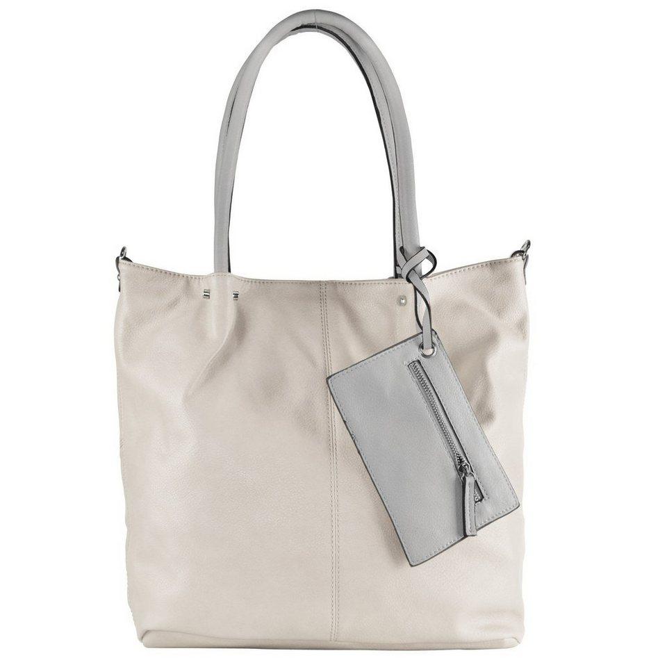 Maestro Maestro Surprise Bag in Bag Shopper Tasche 41 cm in ice hellgrau