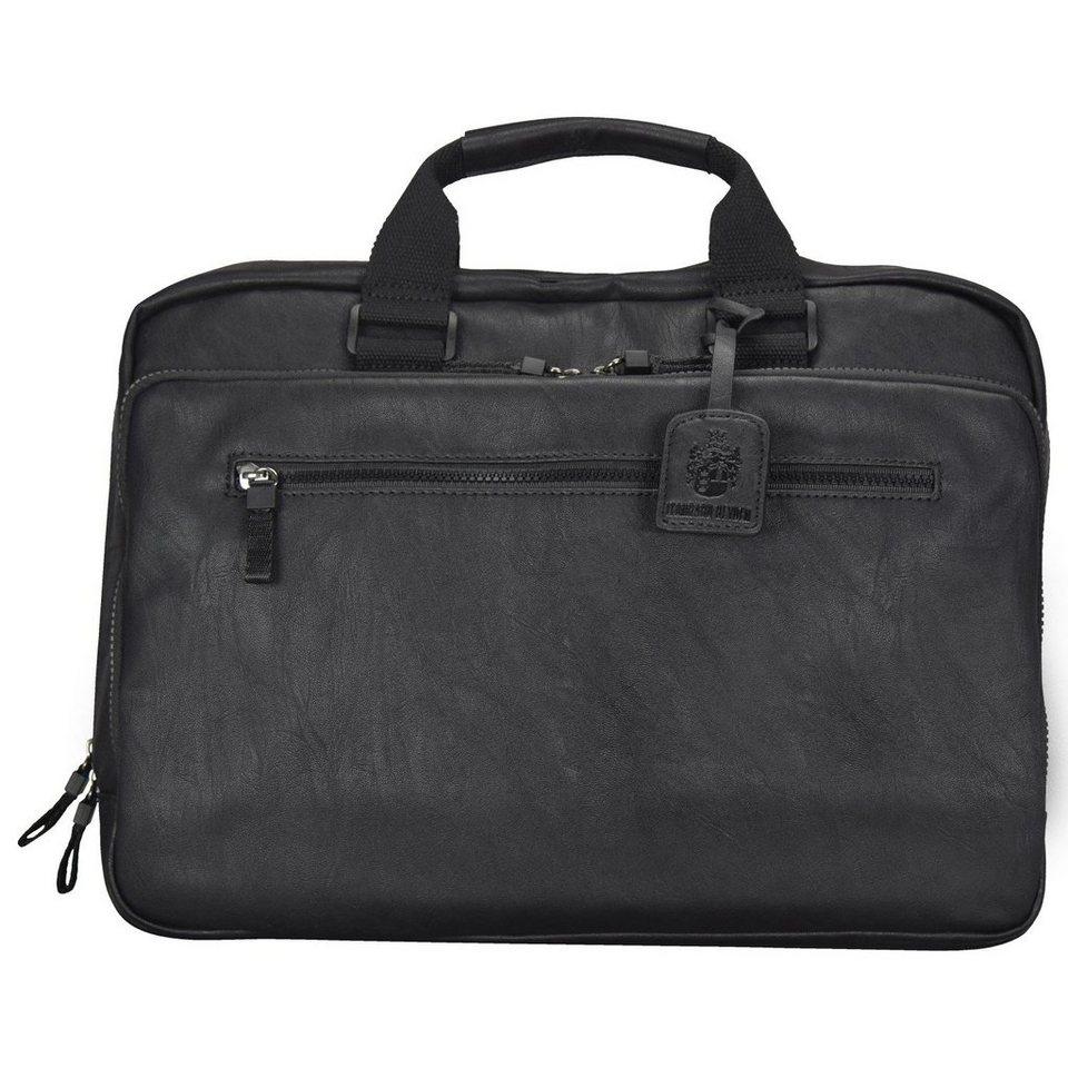 Leonhard Heyden Leonhard Heyden Cult Handtasche 40 cm Laptopfach in schwarz