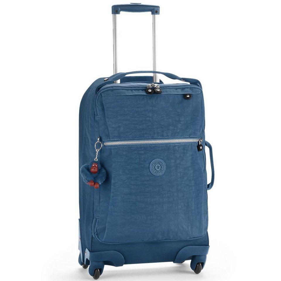 KIPLING Kipling Basic Travel 15 Darcey 4-Rollen Trolley 55 cm in jazzy blue
