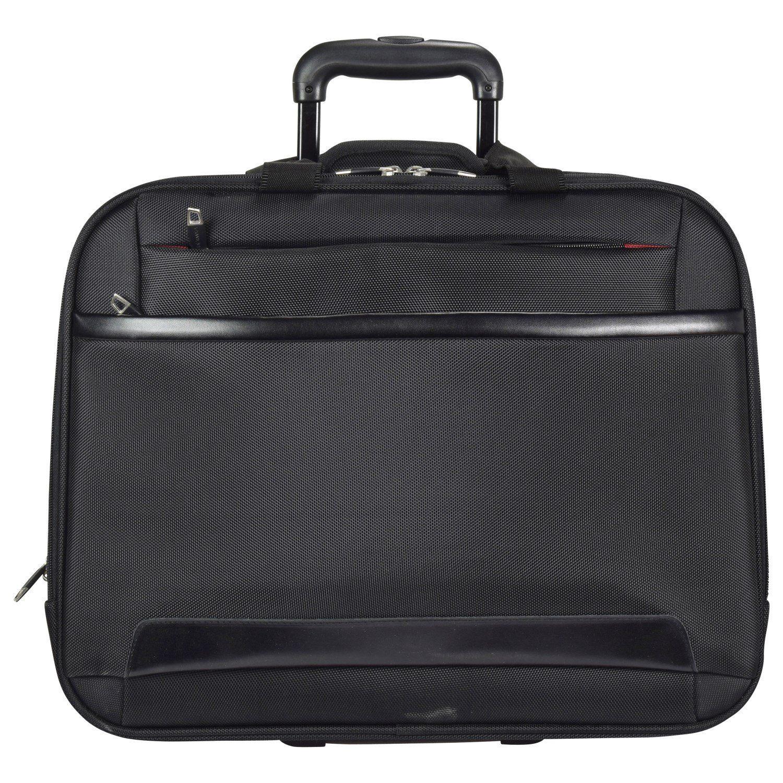 Dermata 2-Rollen Trolley Business II 44,5 cm Laptopfach
