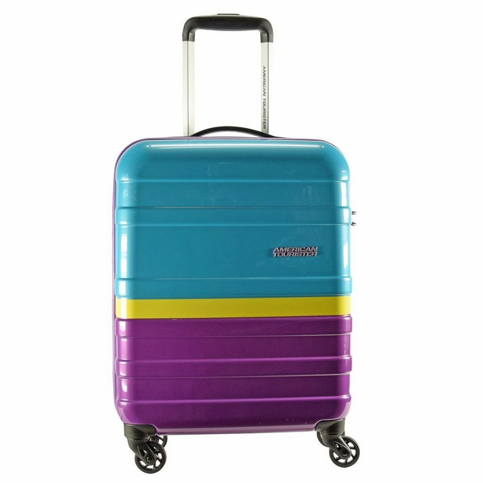 American Tourister American Tourister Pasadena Spinner 4-Rollen Kabinen-Trolley 55 in sunset paradise