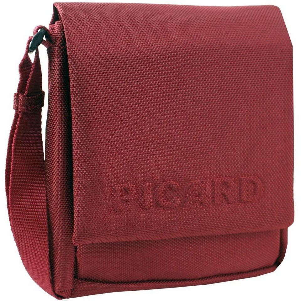 Picard Picard Hitec Umhängetasche 16 cm in rot