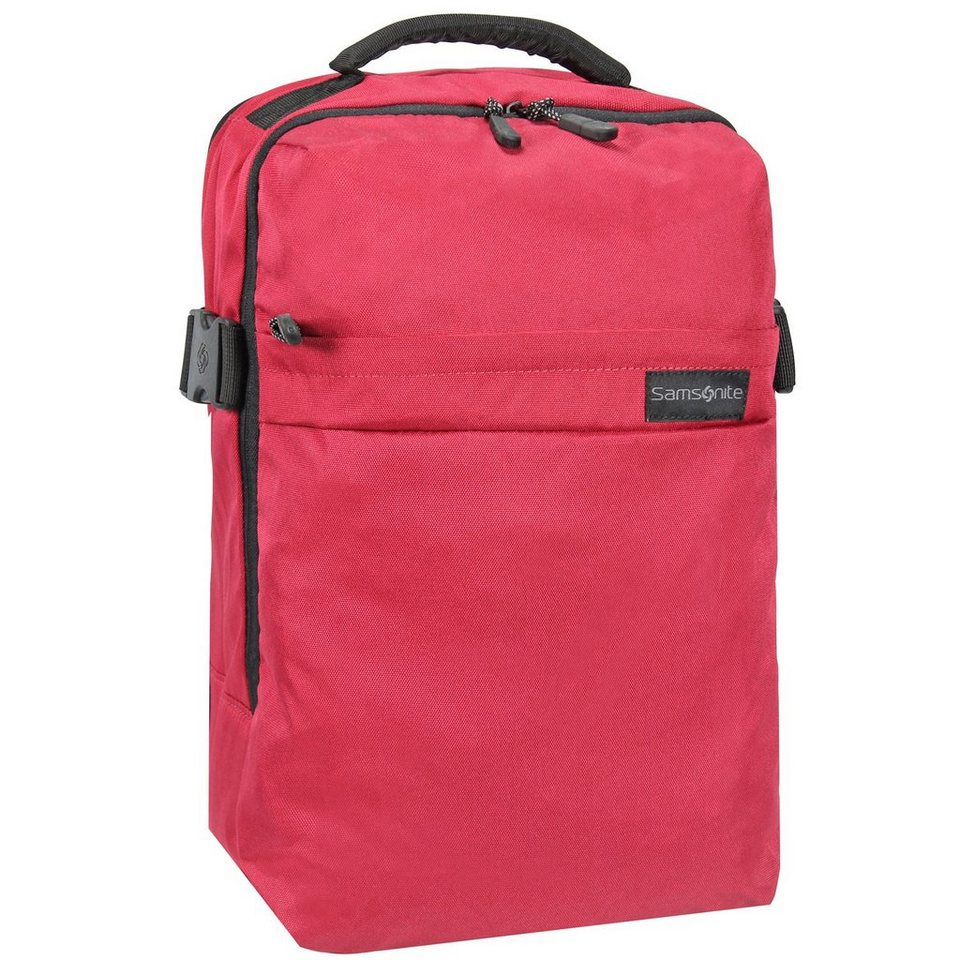 Samsonite Metatrack Rucksack 45 cm Laptopfach in red