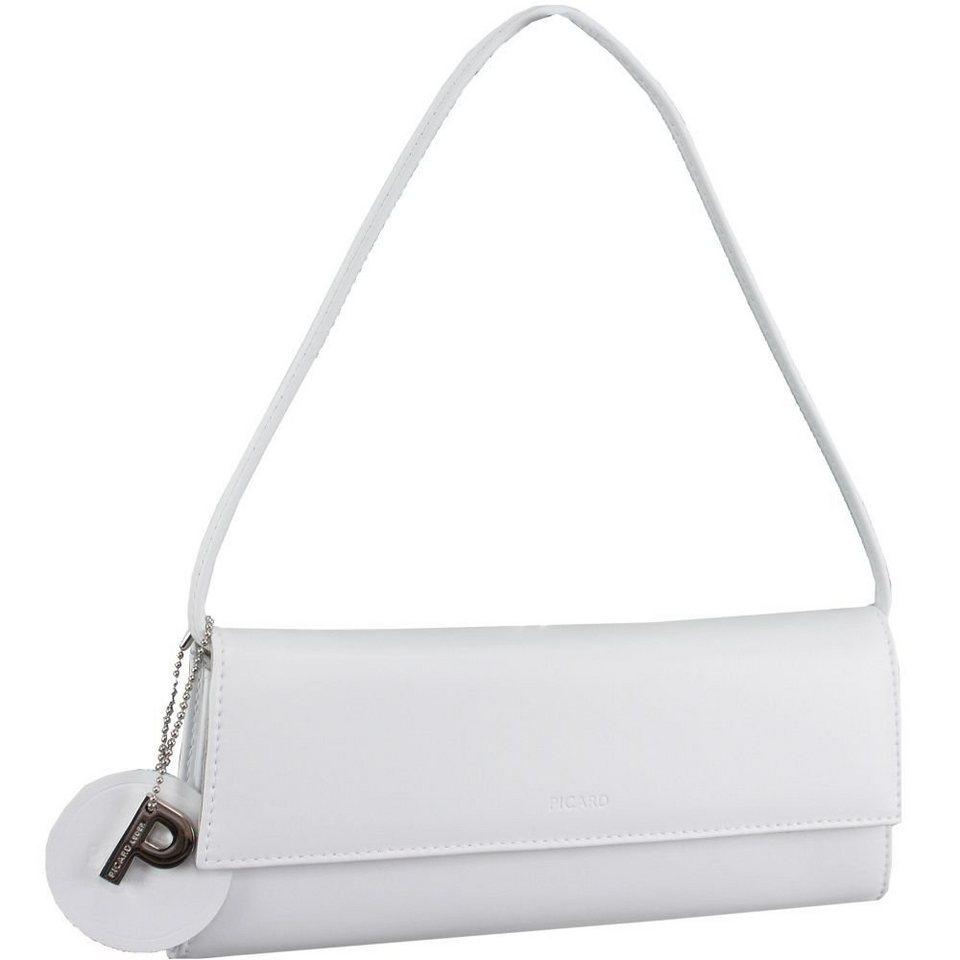 Picard Auguri Damentasche Leder 26 cm in weiß