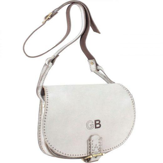 Greenburry Dusty White Handtasche Leder 28 cm