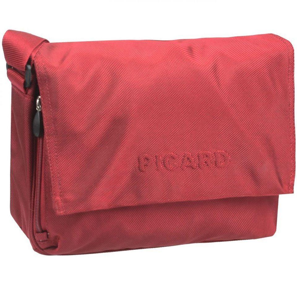 Picard Picard Hitec Messengerbag Nylon 31 cm in rot
