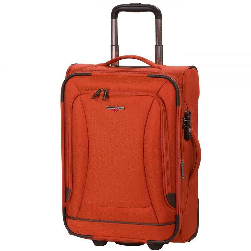 Hardware O-Zone Kabinen-Trolley 2-Rollen 55 cm in orange-grey