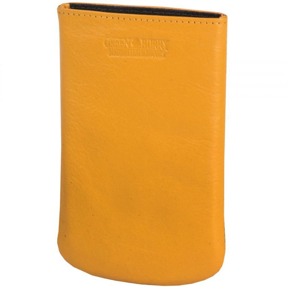Greenburry Spongy iPhone4, iPhone4S Handytasche Leder 7,5 cm in yellow