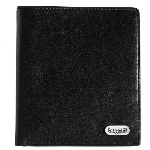 bugatti Basic Line Kreditkartentasche Leder 10 cm