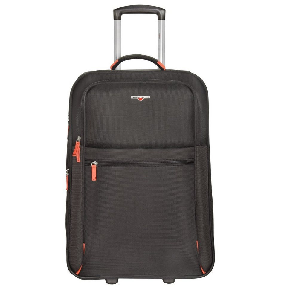 Hardware Hardware Hybrid Trolley 2-Rollen 66 cm in black-orange