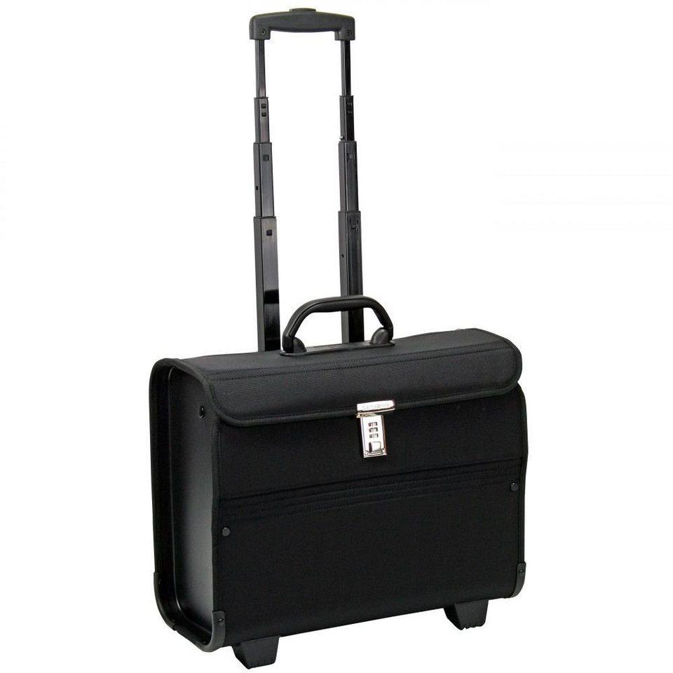 "Samsonite Transit 2 Pilotenkoffer ""Syntonic"" 45,5 cm Laptopfach in jet black"