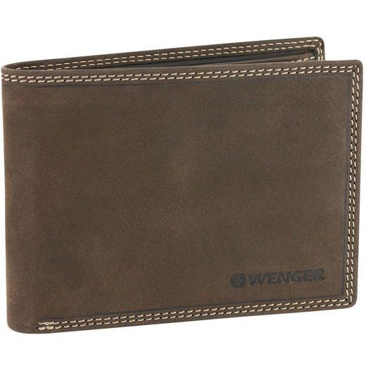 Wenger Le Rubli Geldbörse Leder 12,8 cm