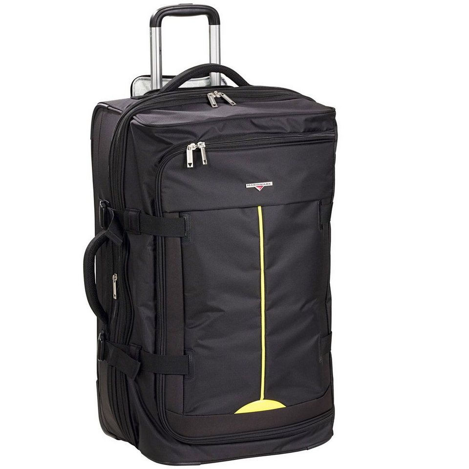 Hardware Lightweight II Rollen-Reisetasche 2-Rollen 78 cm in black-yellow