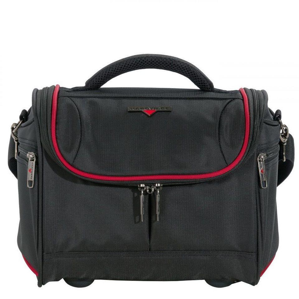 Hardware O-Zone Beautycase 34 cm in black-red