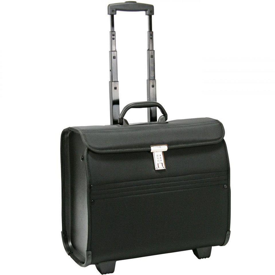 "Samsonite Transit 2 Pilotenkoffer ""Syncretic"" 45,5 cm Laptopfach in jet black"