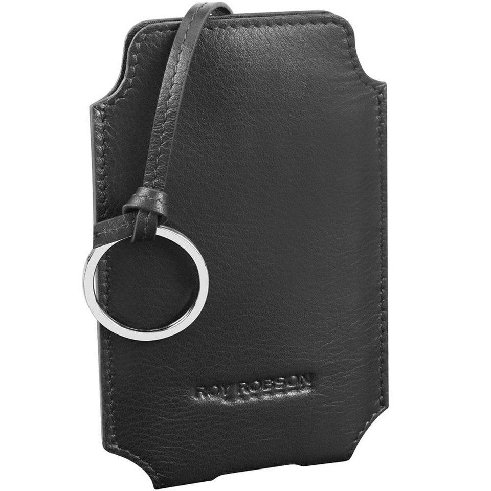 Roy Robson Tender Touch iPhone-Hülle Leder 7,5 cm in schwarz