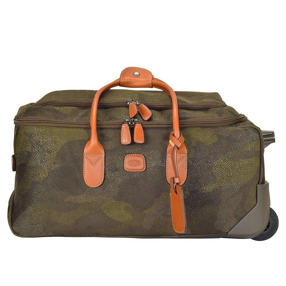 Bric's Life Rollenreisetasche 55 cm in military