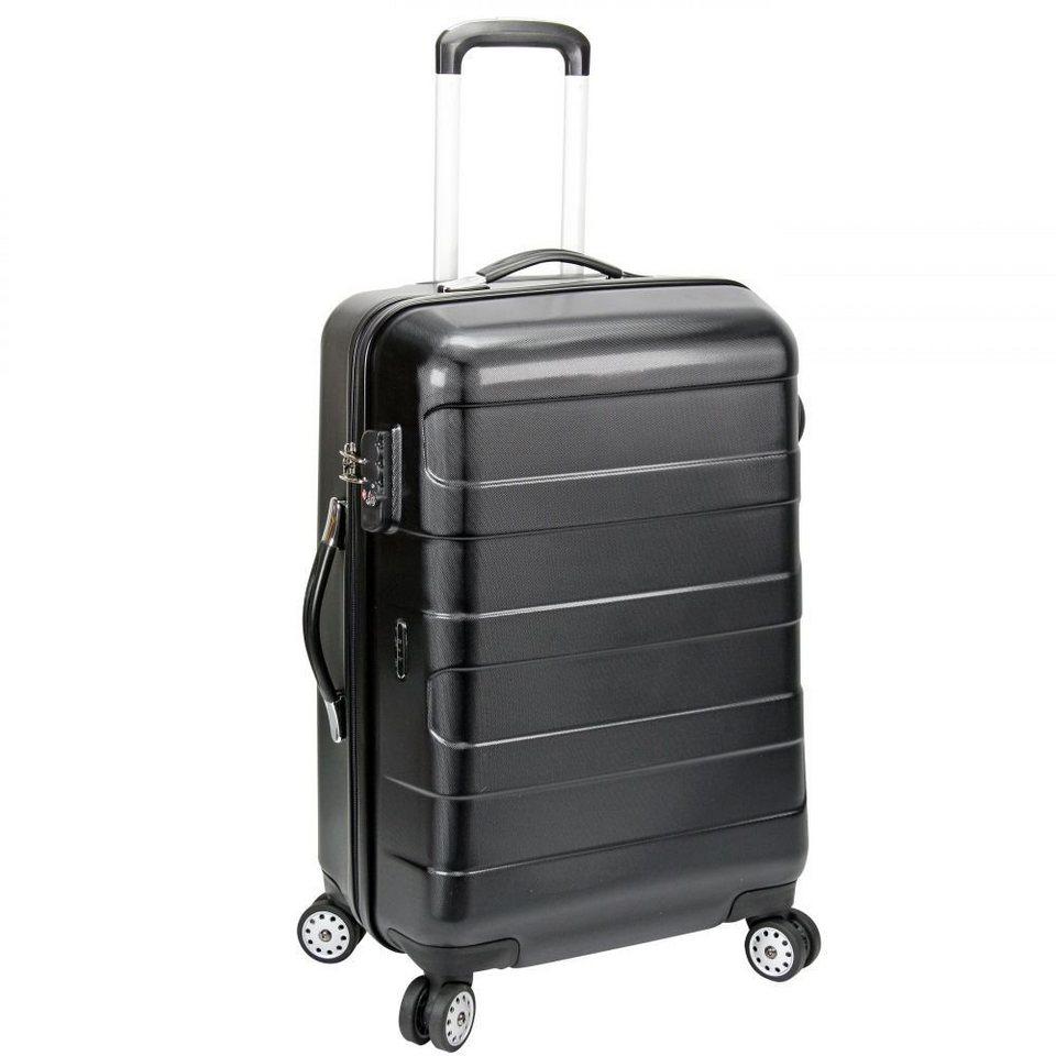 d & n d&n Travel Line 8600 4-Rollen Trolley 61 cm in schwarz