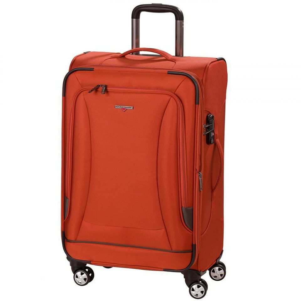 Hardware Hardware O-Zone Trolley 4-Rollen 69 cm in orange-grey